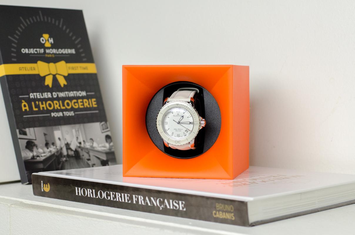 Les remontoirs Swiss KubiK et Spin-R pour montres