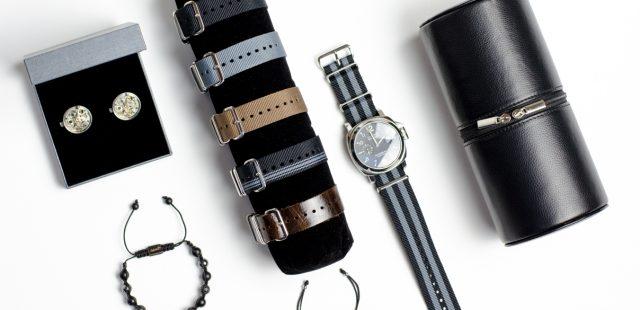 Associer montre, bracelet et boutons de manchette OH Selection