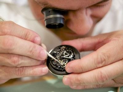 Fonctionnement d'une montre